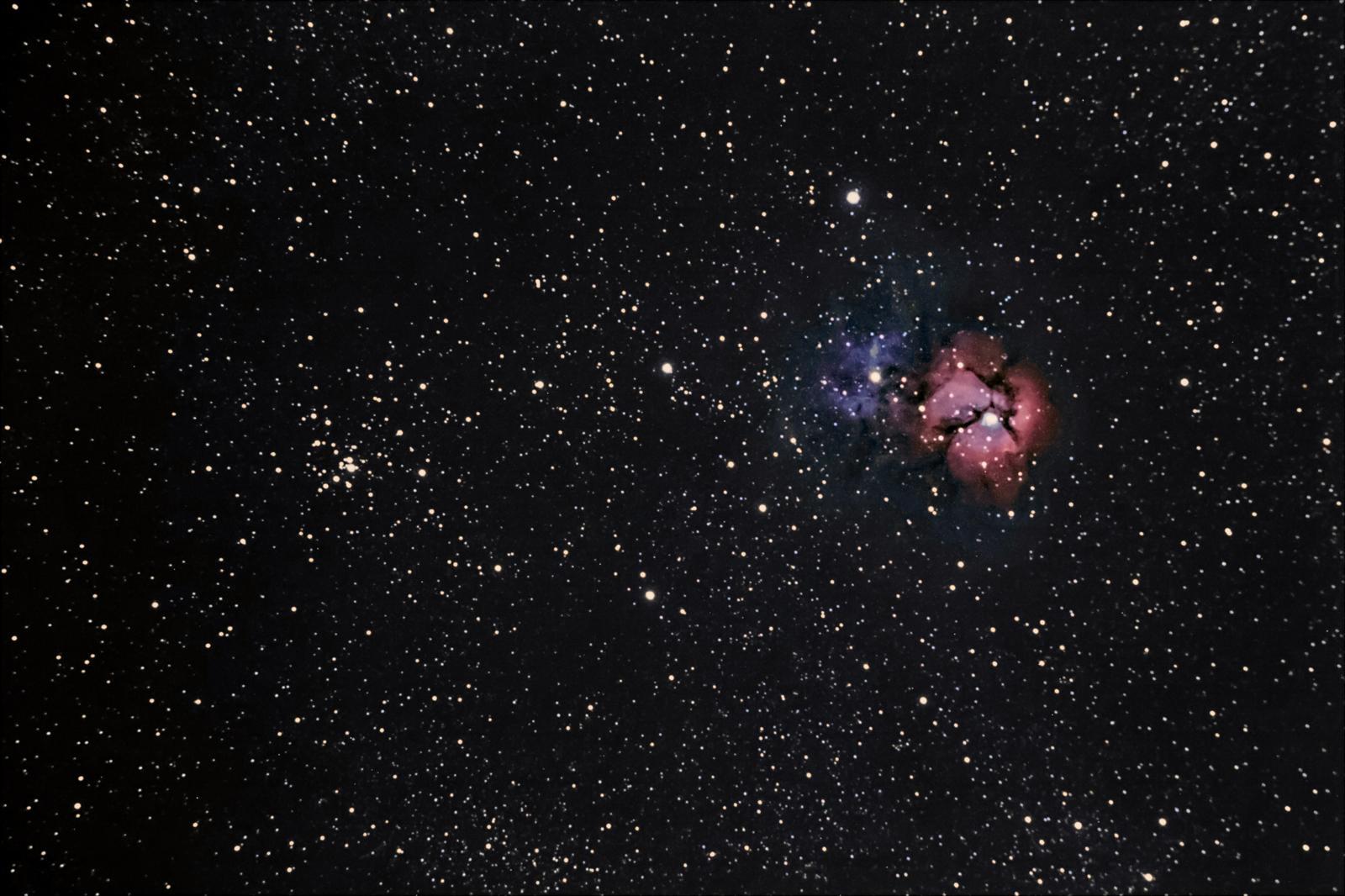 M20 Trifid + M21 6-13-2015 120mm Orion EON ED